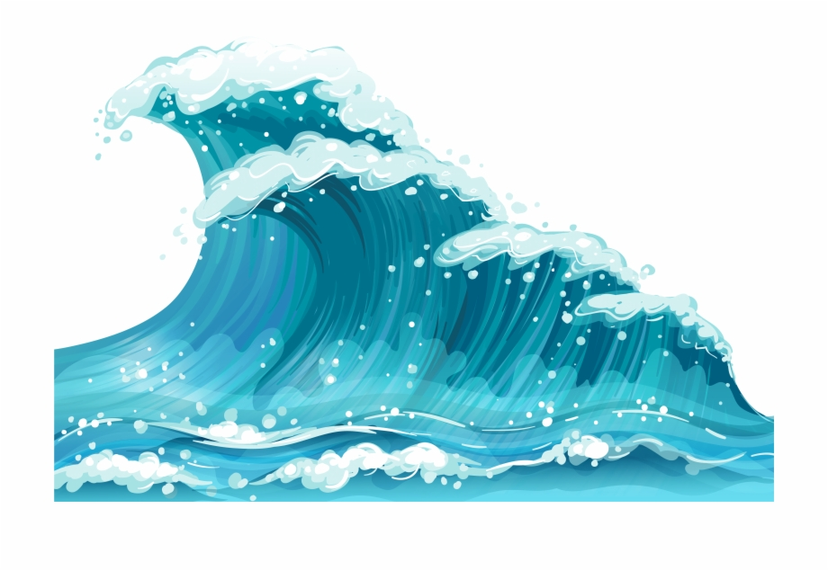 Ocean waves clipart free clip freeuse library Ocean Waves Clip Art Gclipart - Wave Clipart Free PNG Images ... clip freeuse library