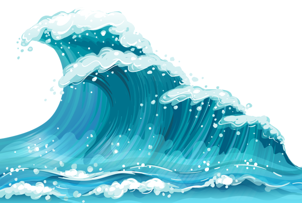 Ocean waves clipart png image transparent Pin by Maddie K. on Landscape References | Wave clipart ... image transparent