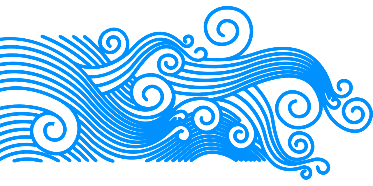 Ocean waves clipart sun banner transparent Free Image on Pixabay - Waves, Wave Pattern, Summer, Glyph ... banner transparent