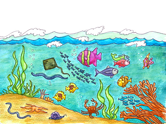 Unde the ocean clipart clip transparent download Free Ocean Cliparts, Download Free Clip Art, Free Clip Art on ... clip transparent download