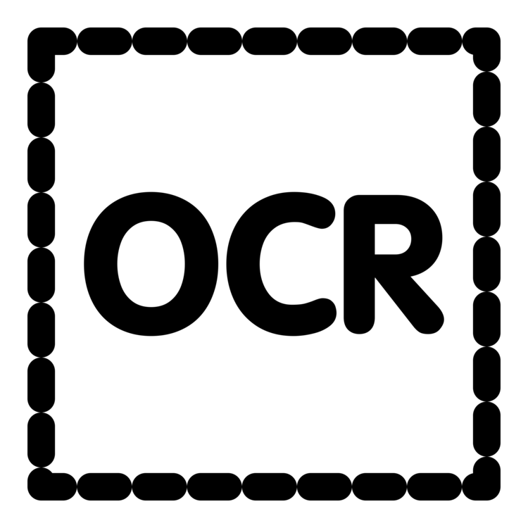 Ocr clipart picture free library Monochrome,Area,Text Vector Clipart - Free to modify, share ... picture free library