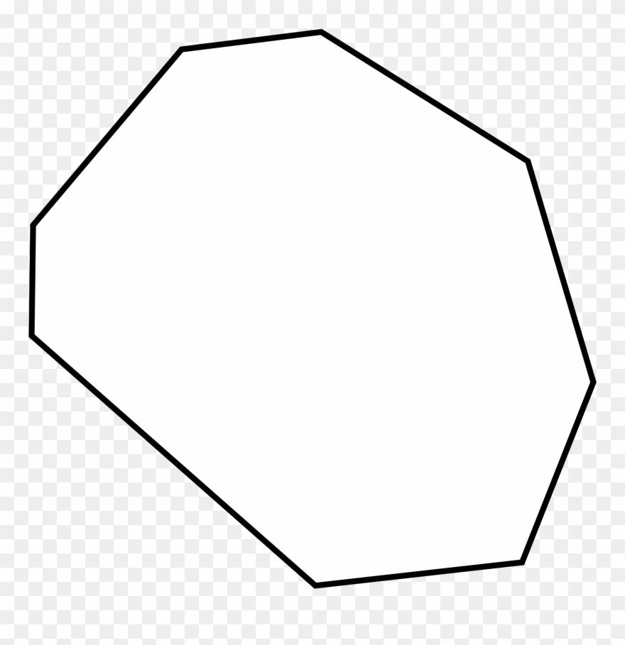 Octagon black and white clipart svg freeuse library Octigons Clipart Black And White - Irregular Octagon Shape ... svg freeuse library