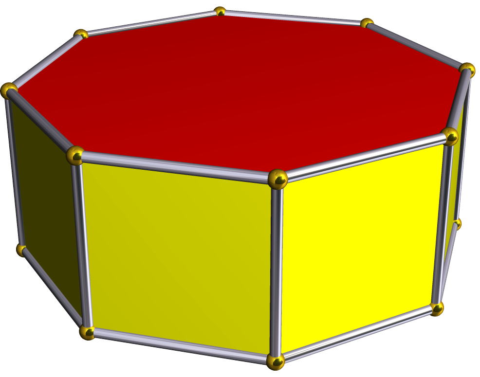 Octagonal prism clipart png library library Octagonal prism - Wikipedia png library library