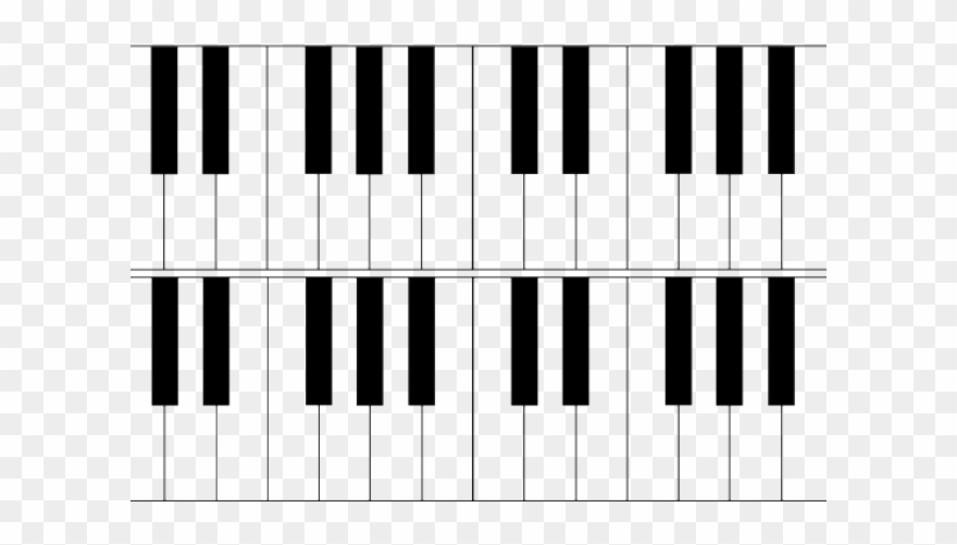 Octave clipart clip library Piano Clipart Octave - River Flows In You Noten - Png Download ... clip library