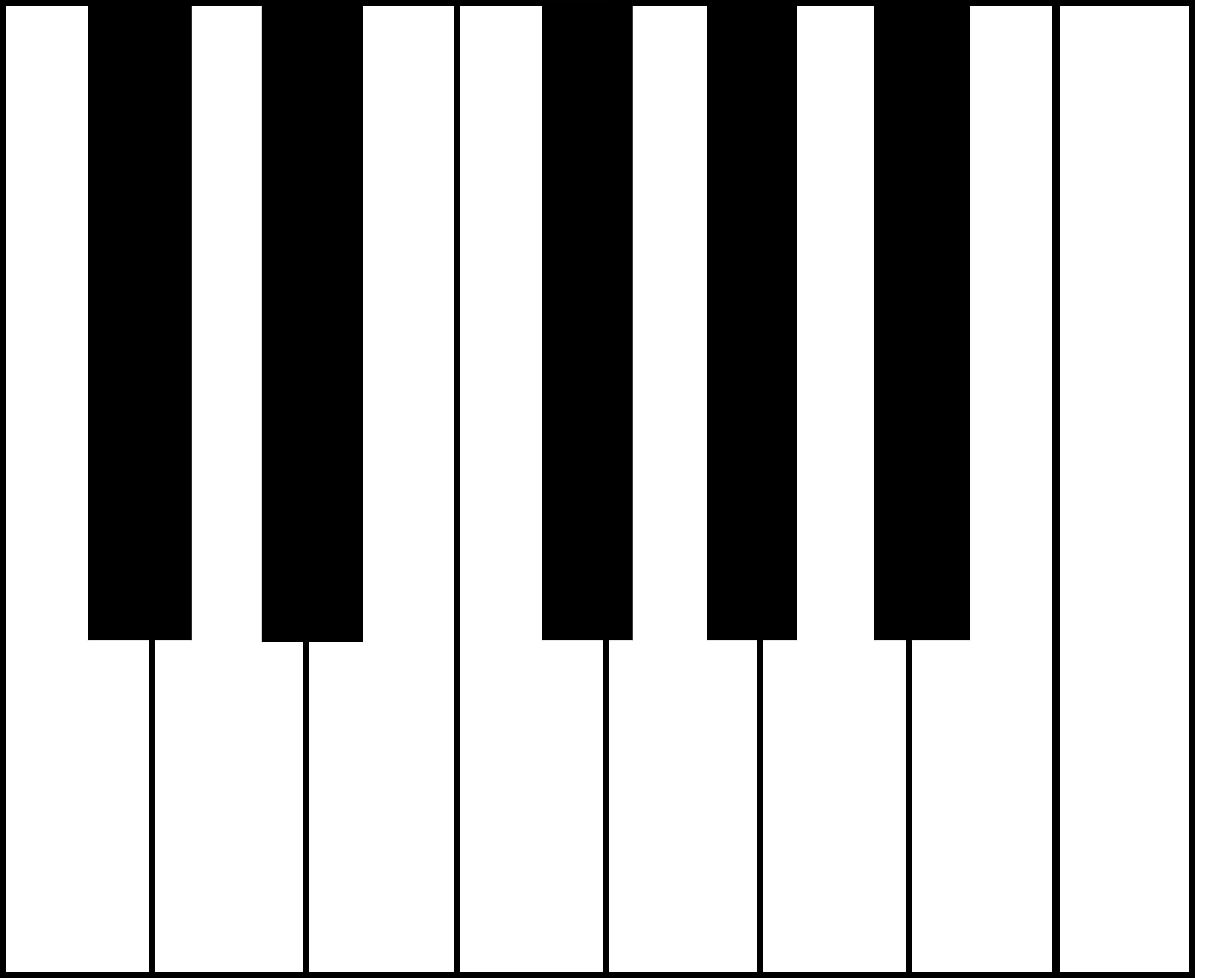 Octave clipart image free stock Free Piano Keys, Download Free Clip Art, Free Clip Art on Clipart ... image free stock