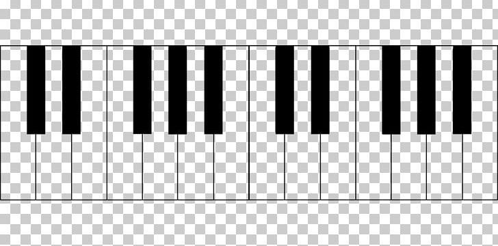 Octave clipart clip art black and white stock Piano Musical Note Chord Musical Keyboard Octave PNG, Clipart, Black ... clip art black and white stock