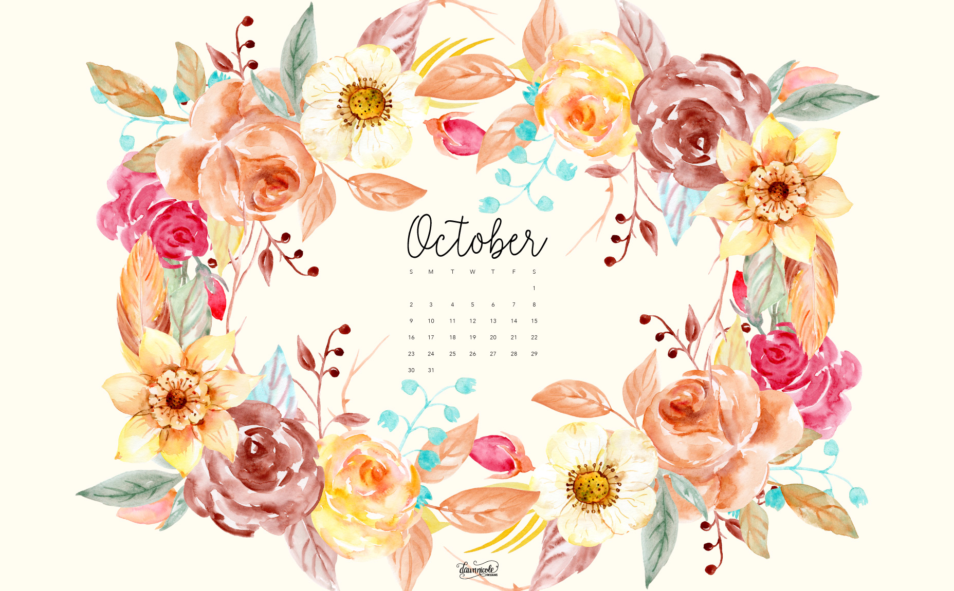 October 1938 calendar clipart image freeuse library October desktop clipart - ClipartFox image freeuse library