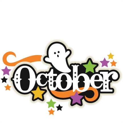 October 2016 clipart svg freeuse Large october title3 clipart - Cliparting.com svg freeuse