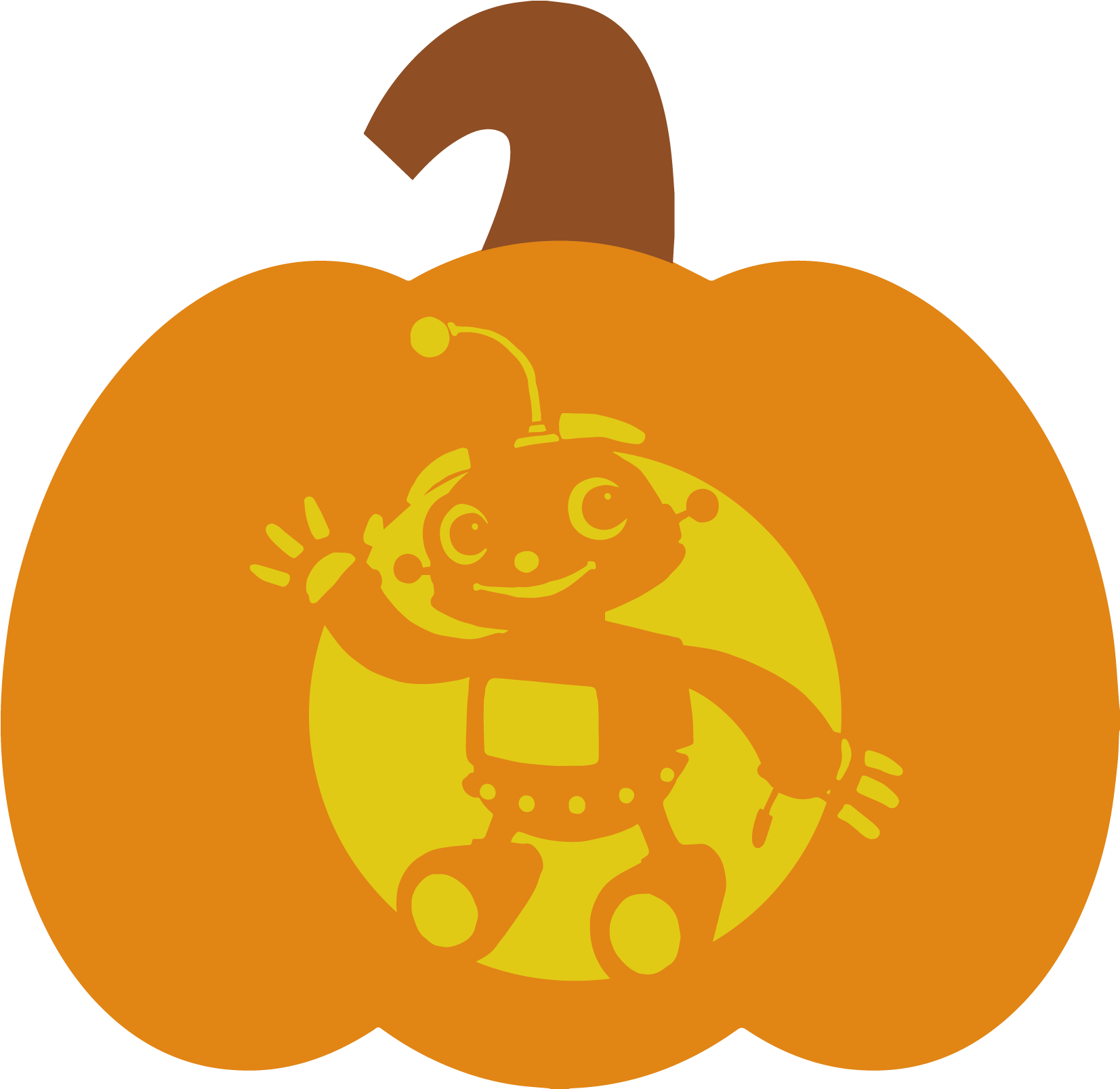 October 2017 clipart jpg royalty free library October 27, 2017 In - Clipart Images Of Pumpkin - Png Download ... jpg royalty free library