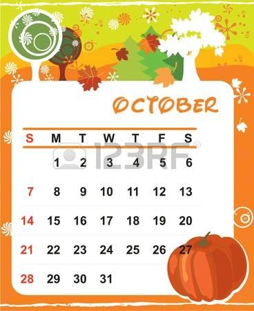 October calendar clip art vector transparent stock 19,018 October Calendar Stock Vector Illustration And Royalty Free ... vector transparent stock