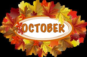 October calendar clip art vector black and white stock Free October Clipart & October Clip Art Images - ClipartALL.com vector black and white stock