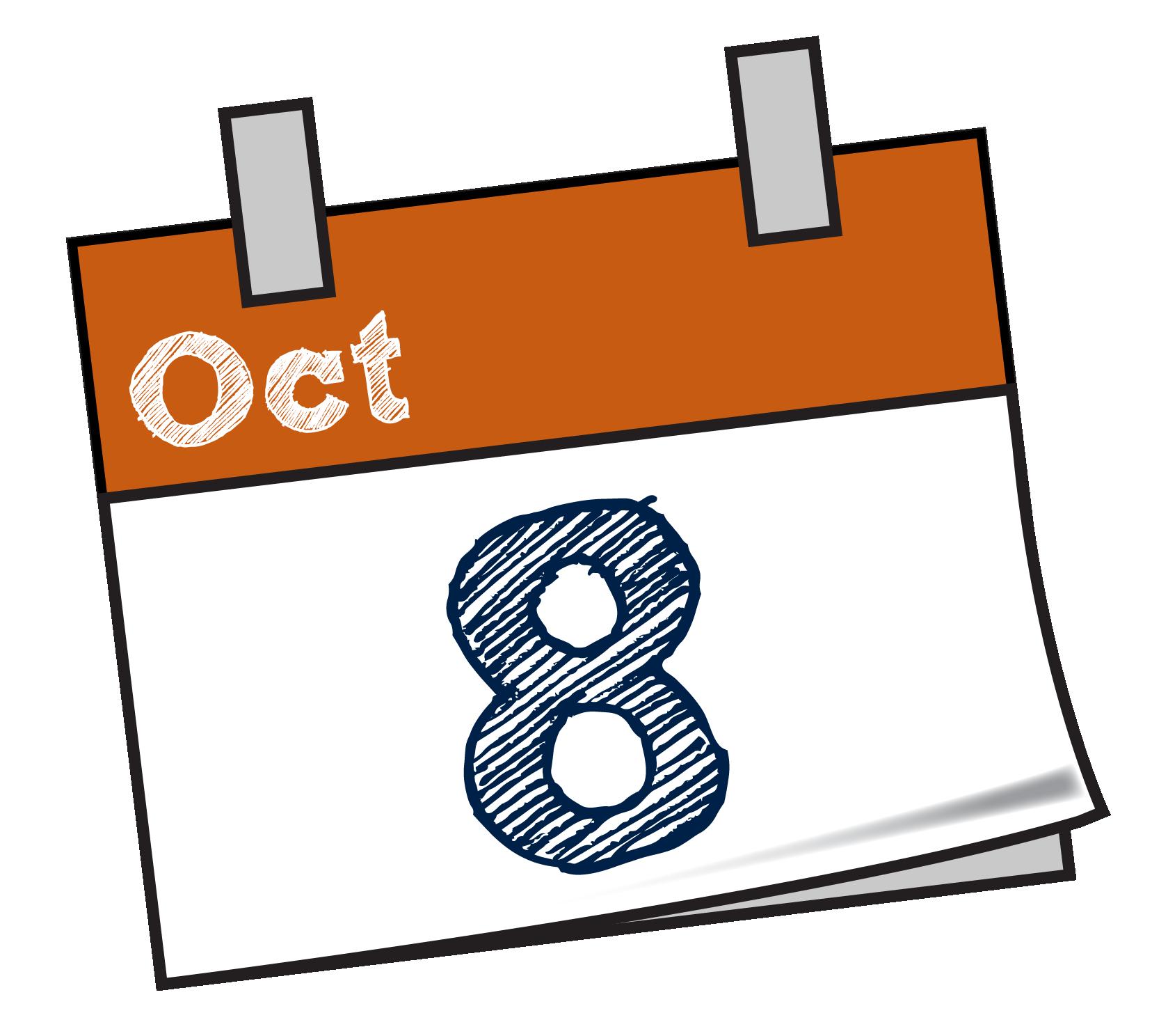 October calendar clip art transparent download Alexandra & Eastern Hills Cricket Association transparent download