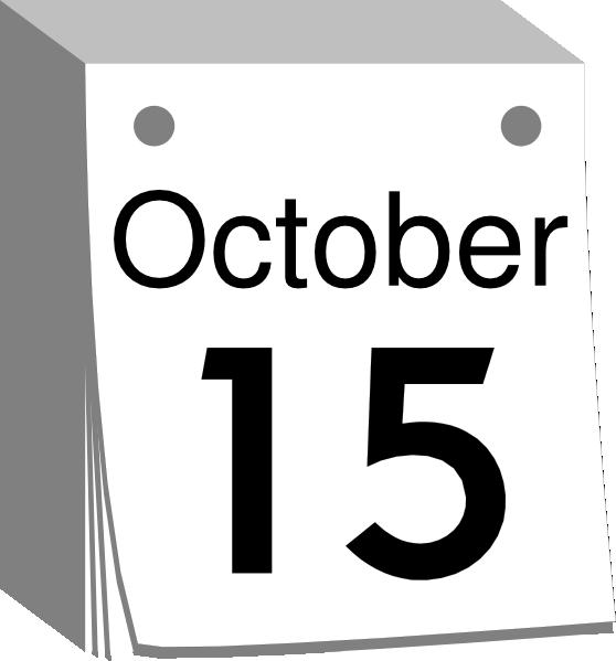 October calendar clip art freeuse stock October Calendar Clipart - Clipart Kid freeuse stock