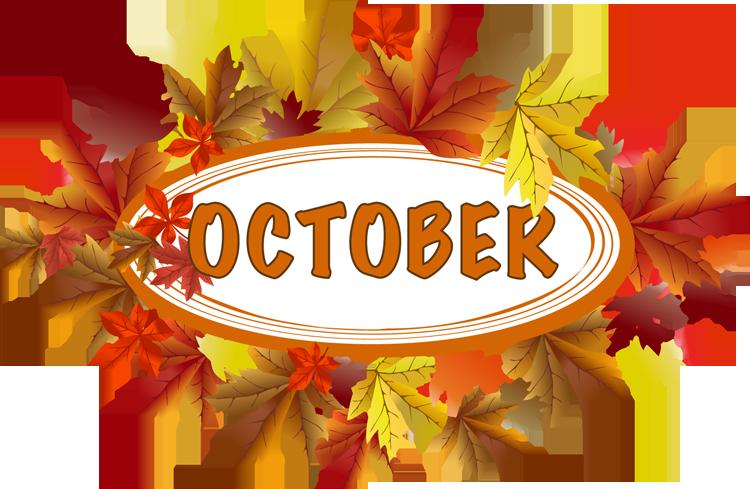 October calendar clip art graphic free stock TGIF Fun Fact: October… Or Should I Say, 'Octobear'? – CREATOR & CURATOR graphic free stock
