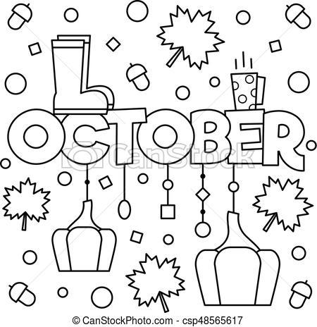 October clipart black and white clip art black and white library October clipart black and white 5 » Clipart Portal clip art black and white library