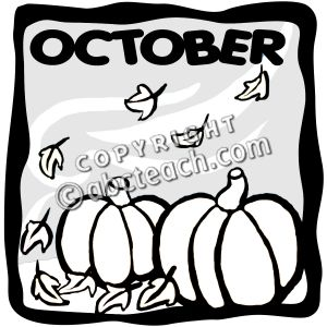 October clipart black and white image black and white download October clipart black and white 3 » Clipart Station image black and white download