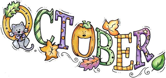 October pictures clipart image free library Welcome October Clip Art Free | Welcome October Images | Fall clip ... image free library