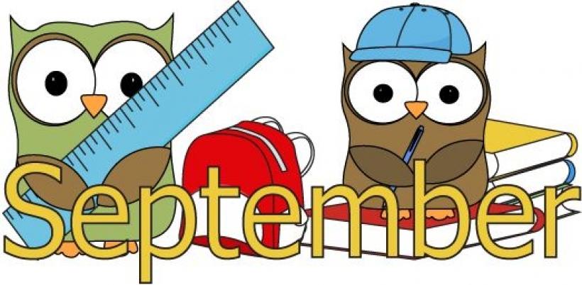 October month clip art