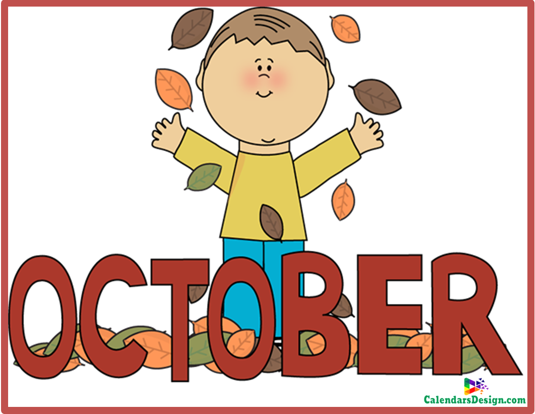 October pictures clipart banner transparent download October Clipart Free - Free 2019 Printable Calendar, Templates, Holidays banner transparent download