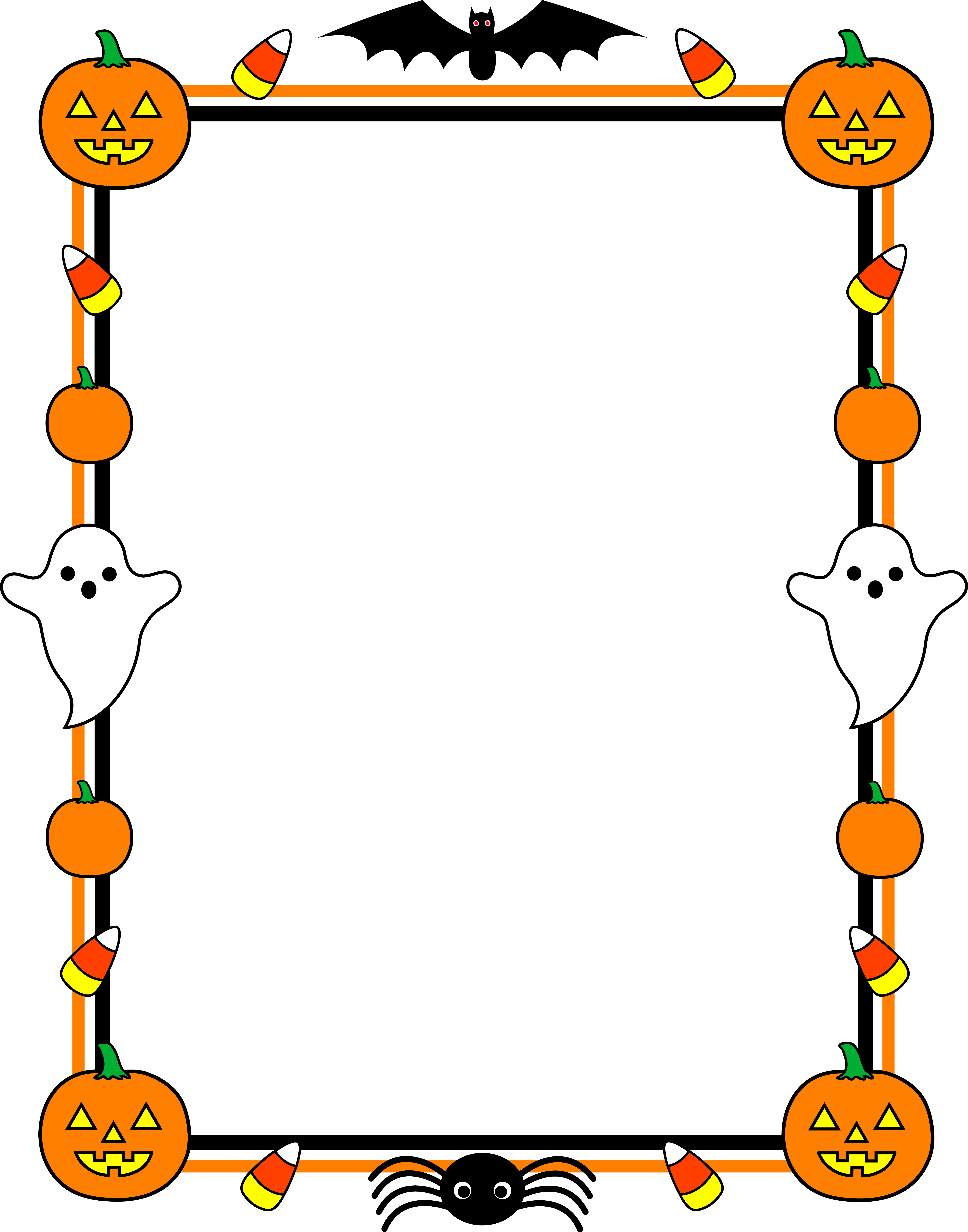 October pumpkin clipart banner transparent library October Candy Clipart banner transparent library
