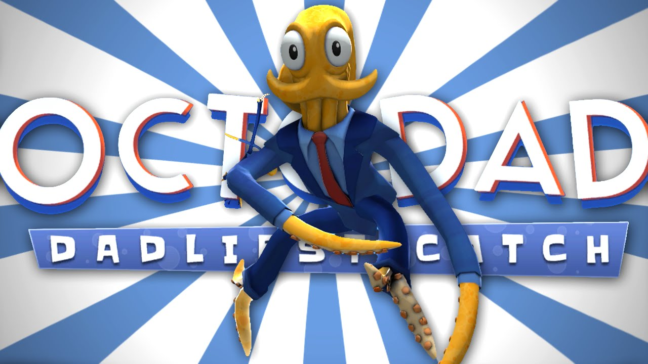 Octodad dadliest catch clipart graphic freeuse download OCTOWAITER TO THE RESCUE   Octodad: Dadliest Catch - Short #1 graphic freeuse download