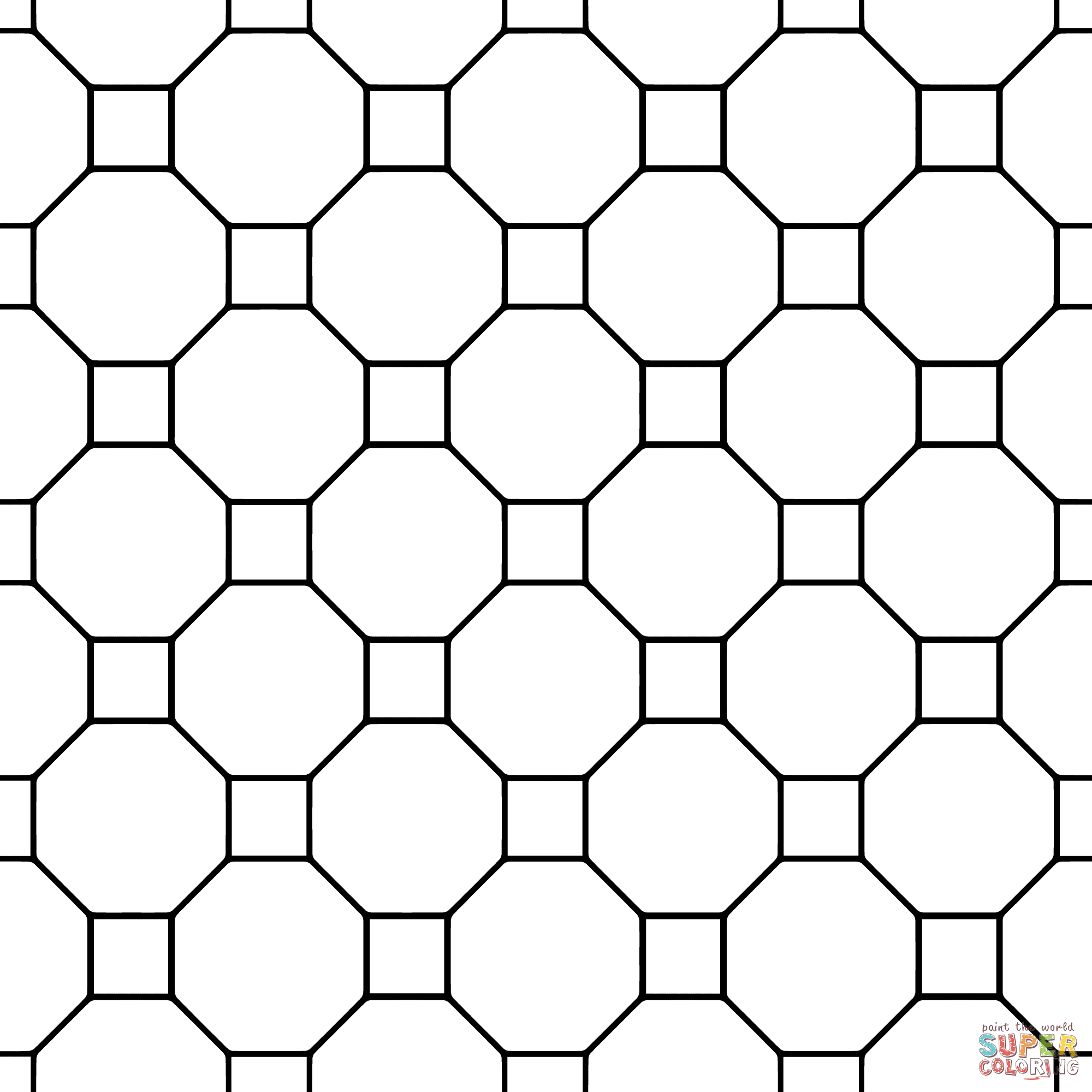 Octogon black and white quilt block clipart clip art freeuse Quilt Pattern Coloring Pages | Free download best Quilt ... clip art freeuse