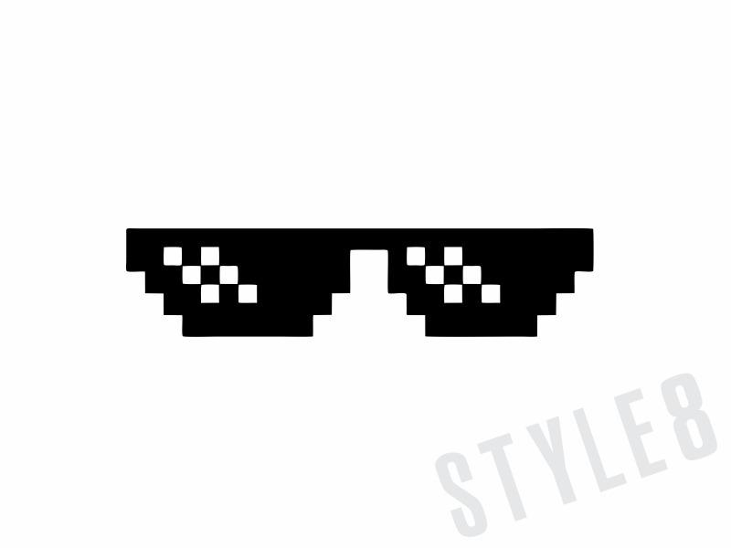 Oculos turn down for what clipart jpg transparent stock Swag Glasses Pixel | CINEMAS 93 jpg transparent stock