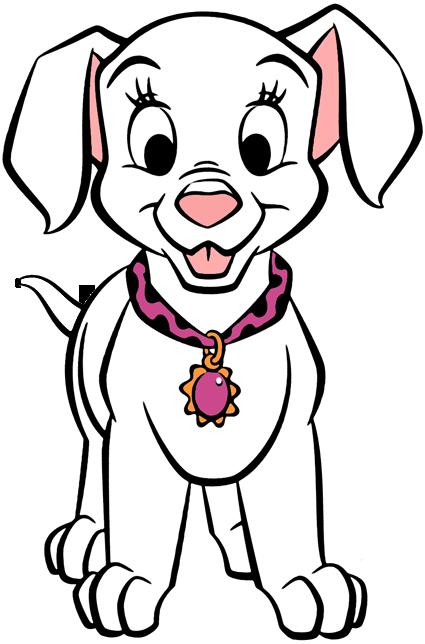 Oddball clipart svg 101 Dalmatians Puppies Clip Art 3 | Disney Clip Art Galore svg