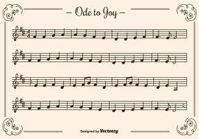 Ode to joy clipart free library Music Notes Free Vector Art - (9,351 Free Downloads) free library