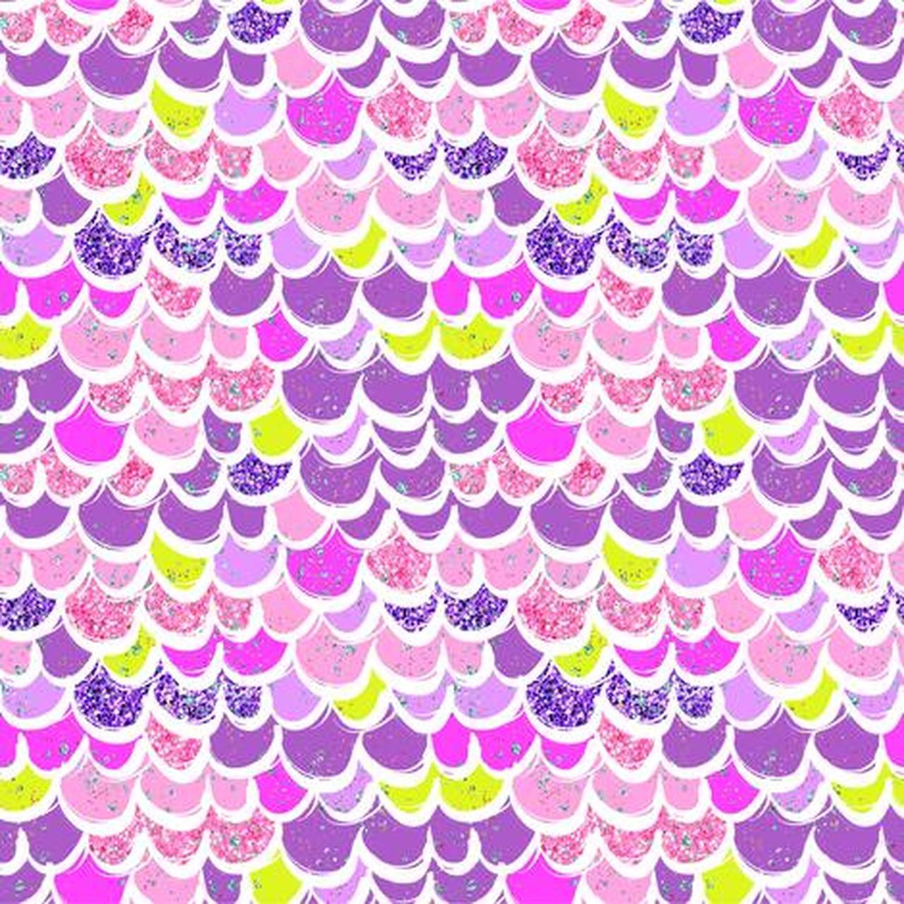 Oeko tex logo clipart vector stock Mermaid Scales Purple/Pink/Yellow-green Euro Oeko-Tex Knit - 1/2 yard vector stock