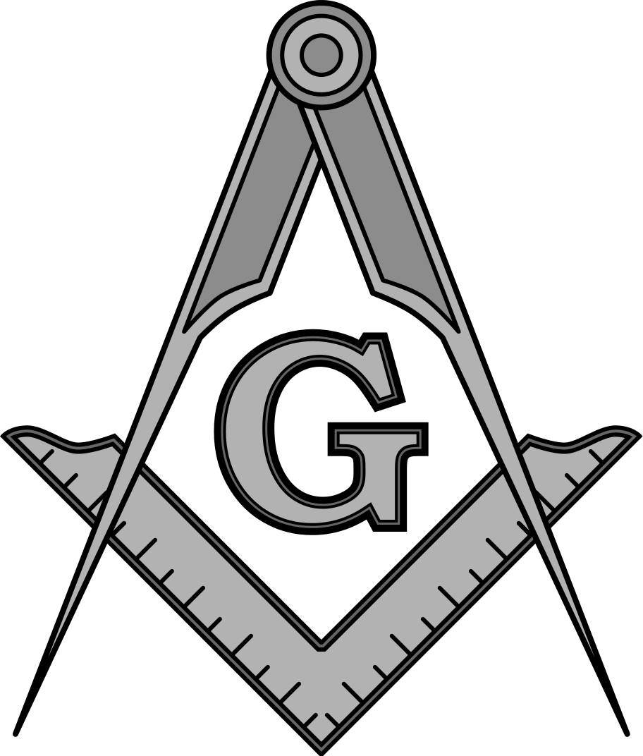 Oes star clipart black and white clip download File:Masonic SquareCompassesG.svg   Freemasons   Pinterest   Filing ... clip download