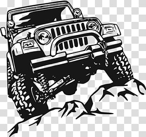 Off road vehicle clipart jpg download Car Jeep Wrangler Rubicon Off-road vehicle, vinyls ... jpg download