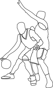 Offense clipart vector Basketball Offense And Defense PNG, SVG Clip art for Web ... vector