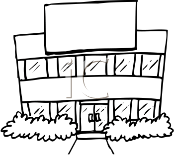 Office building clipart black and white png png stock Cinema building clipart black and white - ClipartFest png stock