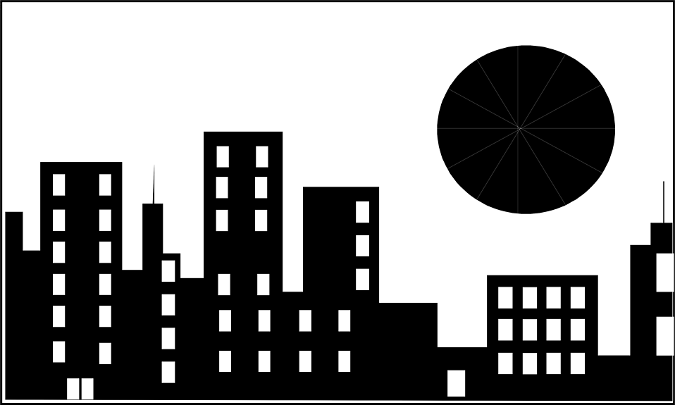 Office building clipart black and white png clip art transparent stock Building clipart black and white png - ClipartFest clip art transparent stock