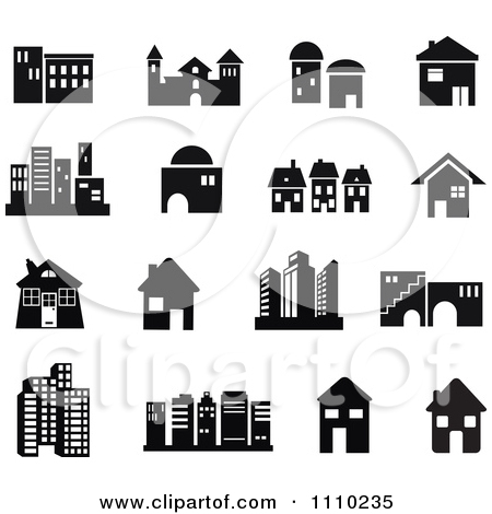 Office building clipart black and white png png transparent download Building clipart black and white vector - ClipartFest png transparent download