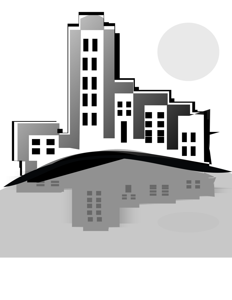 Office building clipart black and white png png black and white download Office Building Construction Scheduling and Management - Palmetto ... png black and white download