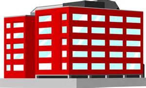 Office building clipart png svg transparent Three Story Office Building Clip Art - Timepose svg transparent