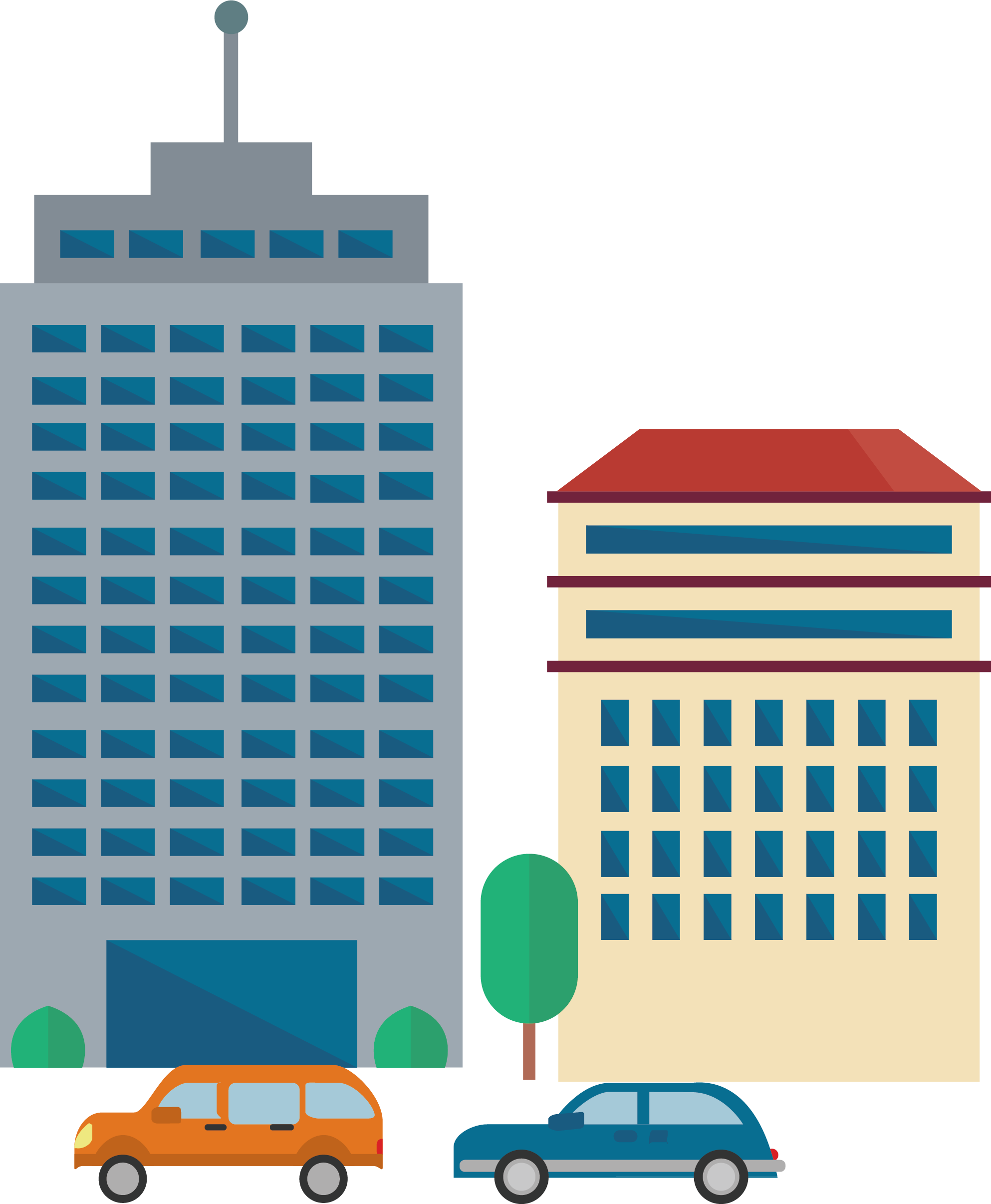 Office building clipart png picture freeuse download Office Building Skyscraper Cartoon - Senior office building 1986 ... picture freeuse download