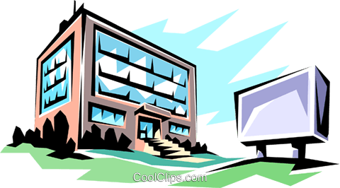 Office building clipart png vector transparent Office building Royalty Free Vector Clip Art illustration ... vector transparent