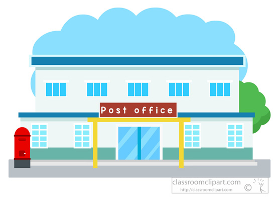 Office building clipart png image black and white download Architecture : post-office-building-clipart-052 : Classroom Clipart image black and white download
