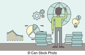 Office clerk clipart jpg freeuse stock Office clerk Clip Art and Stock Illustrations. 3,062 Office clerk ... jpg freeuse stock