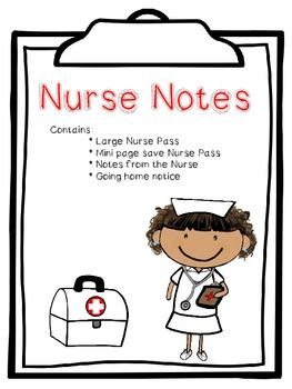 Office clipart nurse teaching healthy vector black and white library Nurse Notes | School Nurses Rock! | School nurse office ... vector black and white library