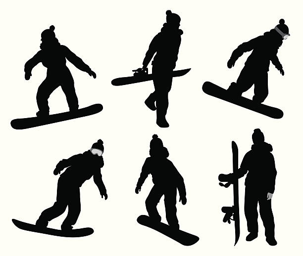 Office com holding a snowboard clipart black and white svg royalty free stock Snowboard clipart vector - 168 transparent clip arts, images ... svg royalty free stock