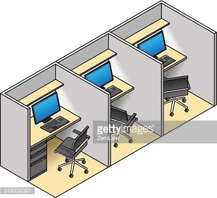 Office cubicles clipart jpg library library Office Cubicles premium clipart - ClipartLogo.com jpg library library