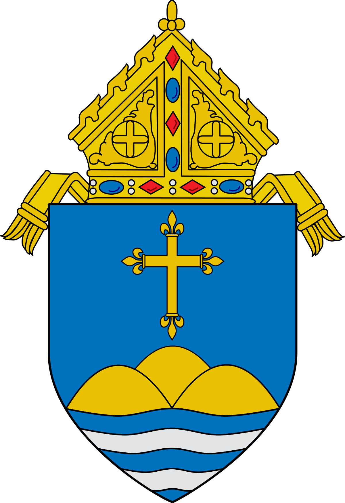 Office of the bishop of new hampshire clipart image free stock Roman Catholic Archdiocese of Boston - Wikipedia image free stock