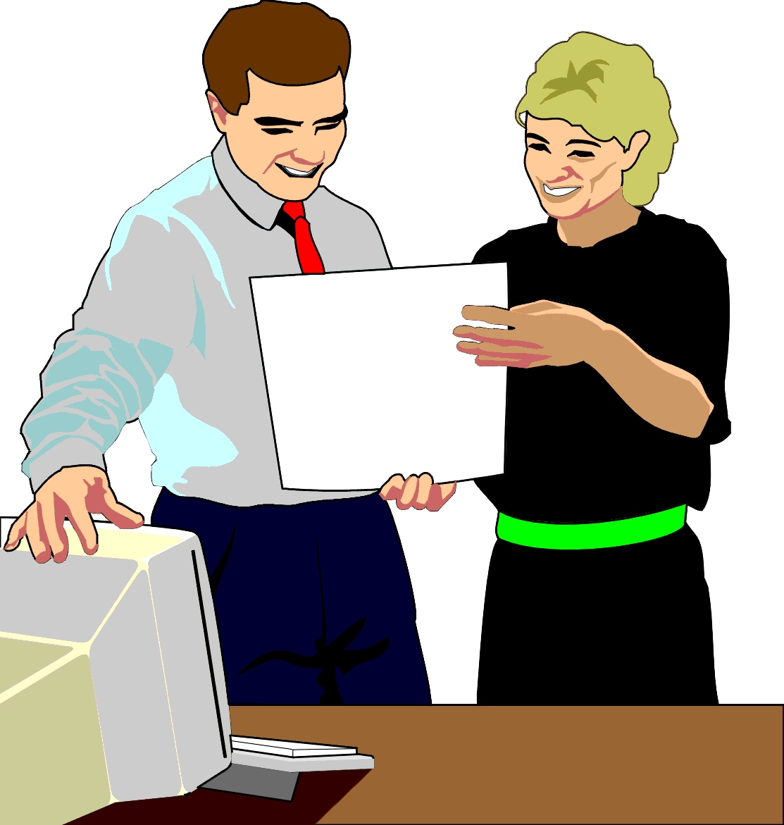 Office staff clipart clip library download Office Staff Clipart - Clip Art Library clip library download