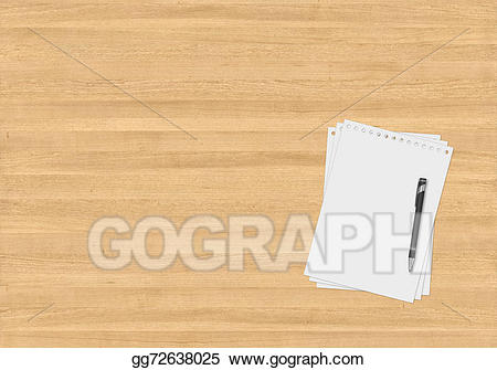 Office table top view clipart clip art free download Stock Illustration - Office table with gadgets. Clipart ... clip art free download