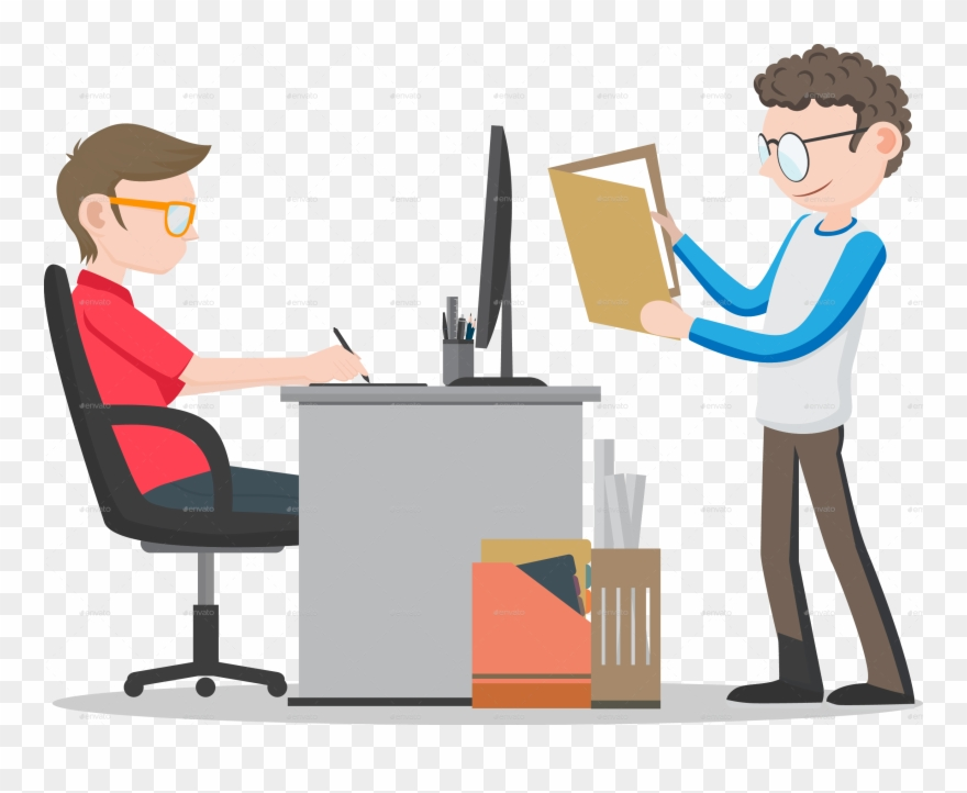 Office worker clipart images clip library stock Office Worker Transparent Clipart Office Desk Clip - Office ... clip library stock