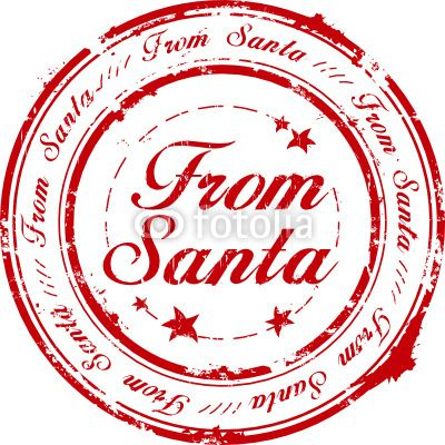 Official seal clipart graphic download Santa Claus Official Seal | Vector: From Santa stamp | From ... graphic download